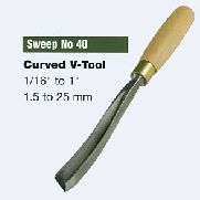 Curved V-Tool (Sweep No.40)