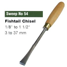 Fishtail Chisel (Sweep No.54)
